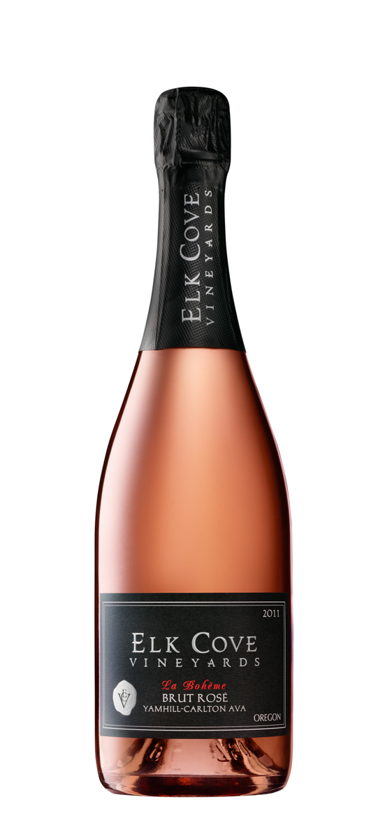 Elk Cove Winery, La Boheme_Brut Rose
