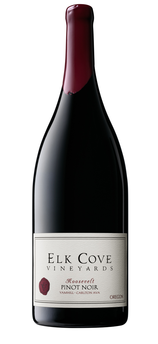 Elk Cove Roosevelt Pinot_Magnum_Wine Bottle