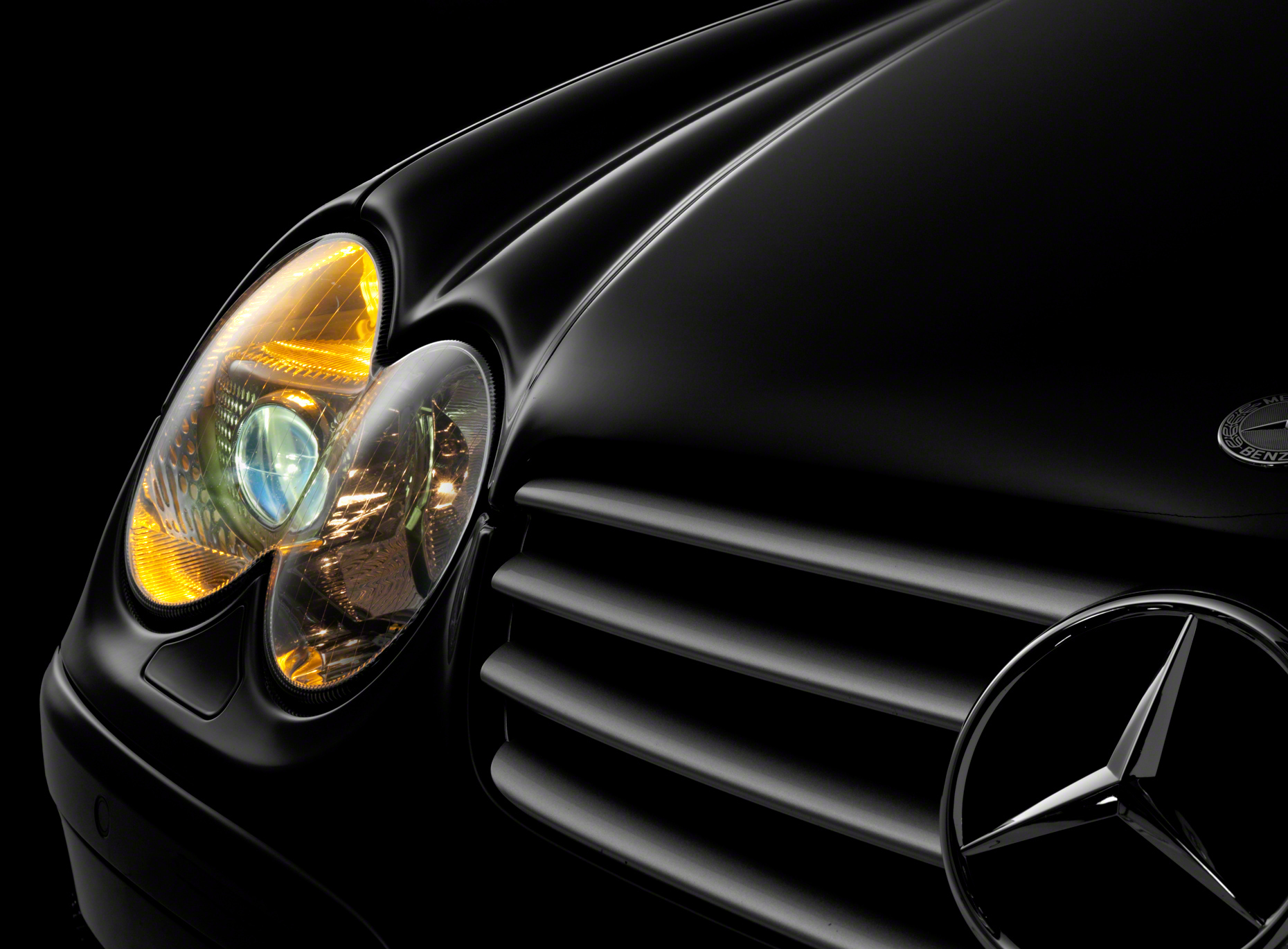 Mercedes SL-55 Headlamp