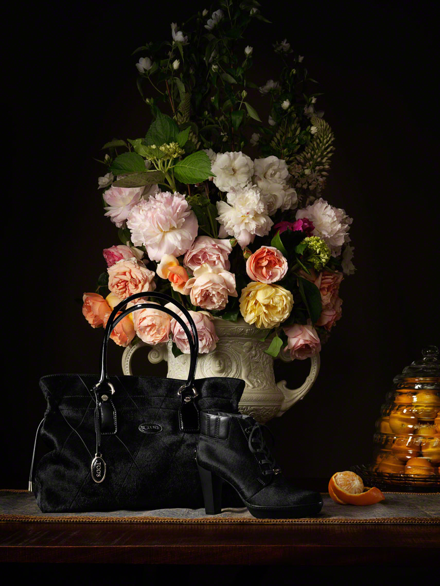 Tods Hand Bag and Peonies.jpg